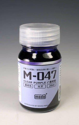 Modo Colors: Modo* M-047 CLEAR PURPLE - Trinity Hobby