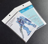 GRework: G-Rework [MG] RGM-79SP GM SNIPER2 Water Decal - Trinity Hobby