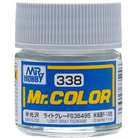 Mr. Color 338 Light Gray FS36495 (Semi-Gloss/Aircraft)