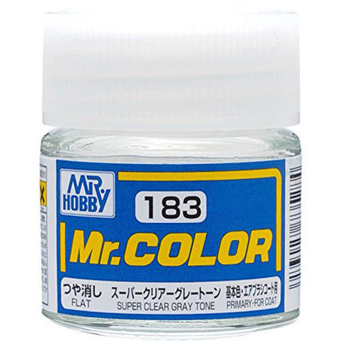 Mr Hobby: Mr. Color 183 - Super Clear Gray Tone (Semi-Gloss/Primary) - Trinity Hobby