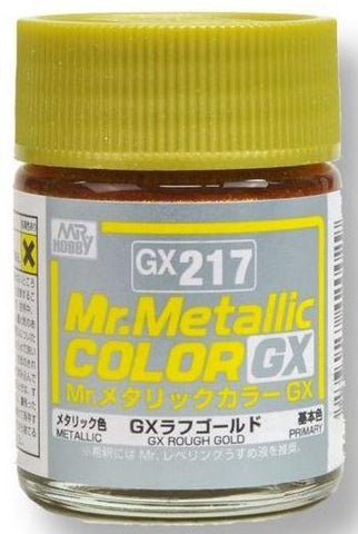 Mr Hobby: Mr Color GX 217 - GX Metal Rough Gold - Trinity Hobby