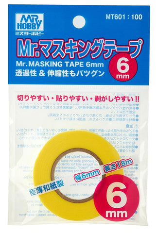 Mr Hobby: MR.MASKING TAPE 6mm - Trinity Hobby