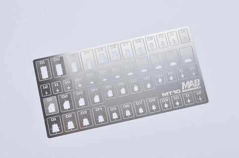 Madworks: Madworks MT10 Scribing Template - Trinity Hobby