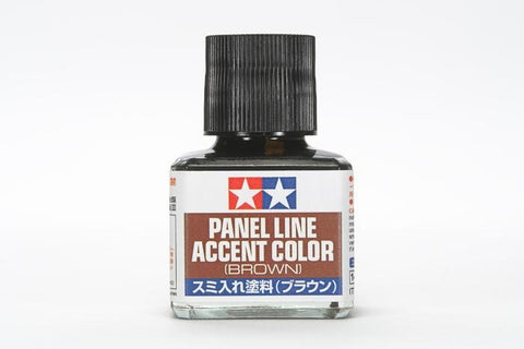 Tamiya: PANEL LINE ACCENT COLOR--BROWN - Trinity Hobby
