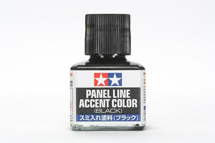 PANEL LINE ACCENT COLOR--BLACK - Trinity Hobby