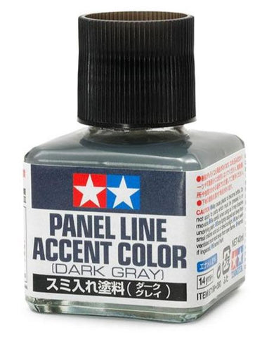 PANEL ACCENT COLOR DARK GRAY - Trinity Hobby