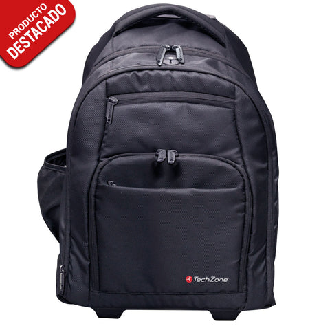 "Backpack Roller c/Ruedas y Manija p/Laptop hasta 15.6"" <br/>TZ18TBLP24"