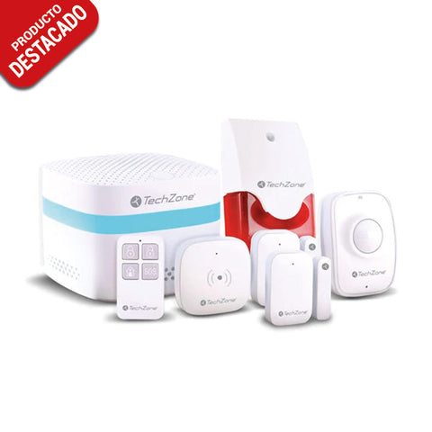 Kit de Seguridad Inteligente Smart Home <br/>TZKIT01SH
