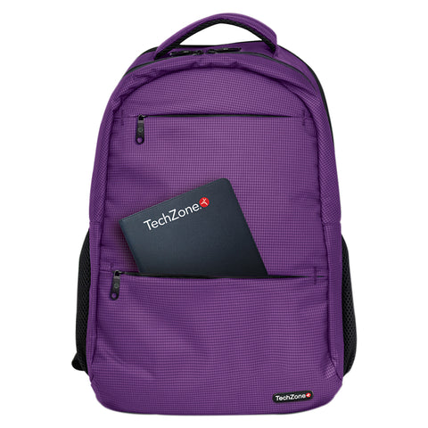 "Backpack Warrior p/Laptop hasta 15.6"" <br/>TZ20LBP01-MOR"