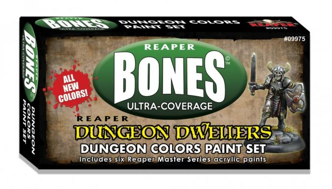 Dungeon Dwellers Paint Set | Kobold's Keep