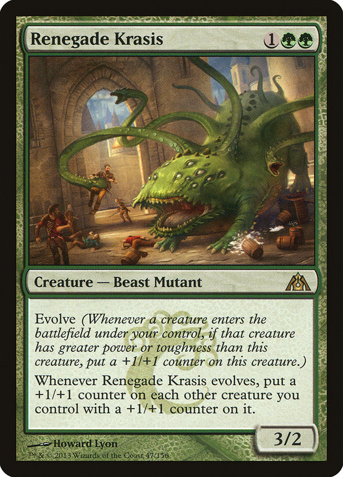 Renegade Krasis [Dragon's Maze] | Kobold's Keep