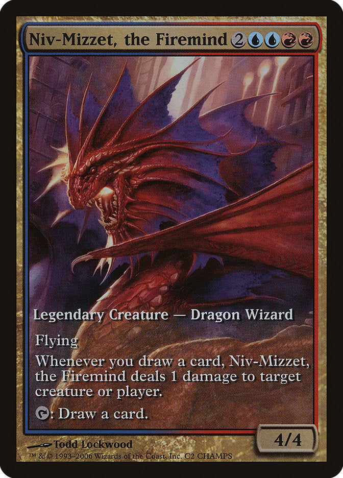 Niv-Mizzet, the Firemind [Champs and States] | Kobold's Keep