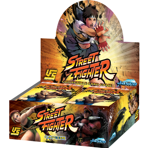 Street Fighter Booster Box | Kobold's Keep
