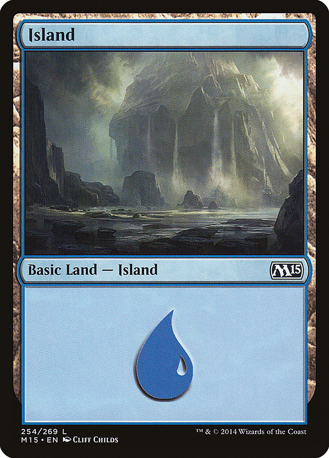 Island [Magic 2015] | Kobold's Keep