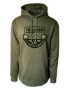 Tracker 36 - Olive Graphic Hoodie
