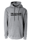Tracker 19 - Heather Grey/Black Logo Hoodie