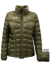 Tracker 11 - Ladies Lightweight Packable Down Jacket (OD Green)