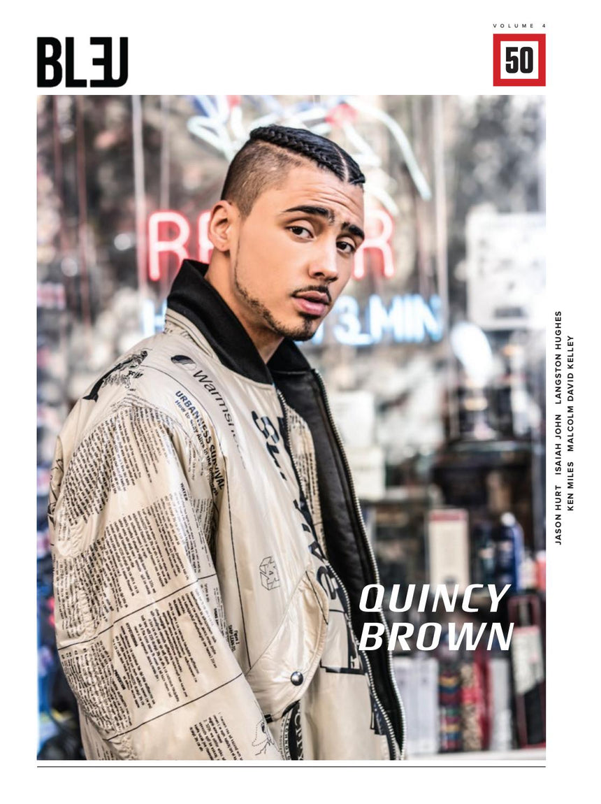 Issue 50 Quincy Brown