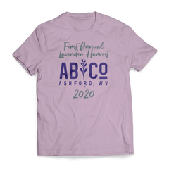 First Annual Lavender Harvest Short Sleeve T-Shirt (more colors available)