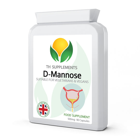 D-Mannose 500mg 90 capsules foos supplement