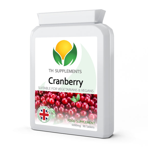 Cranberry 5000mg 90 Tablets food supplements