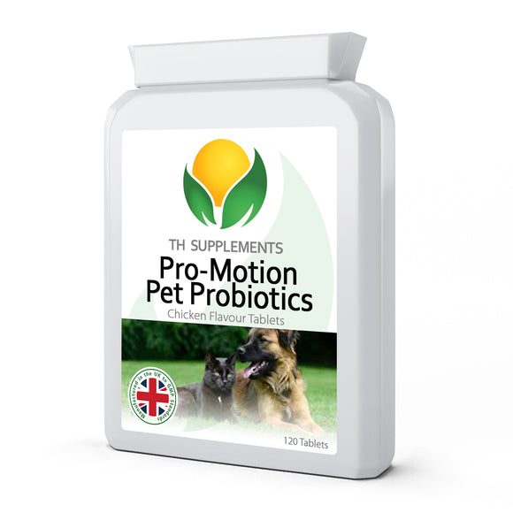 Pet-PRO Flora Balance 2 Billion cfu 120 Chicken Flavoured Tablets 5 strain active bacteria supplement with added digestive enzymes and prebiotics to provide the ultimate digestive and health support for dogs.