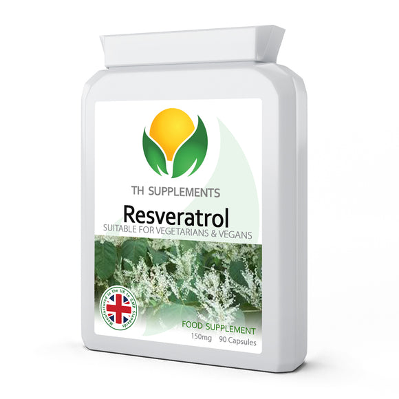 Resveratrol 150mg 90 Capsules for normal female hormones.