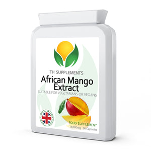 African Mango Extract 18000mg 60 Capsules food supplement