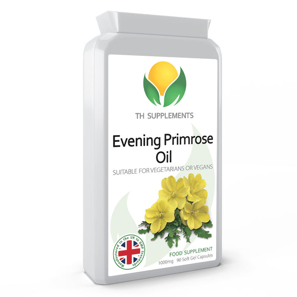 Evening Primrose Oil 1000mg 90 Capsules food supplement   which contributes to the protection of cells from oxidative stress.