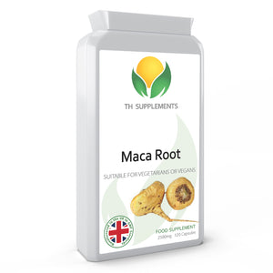 Maca Root 2500mg 120 Capsules. Daily food supplement