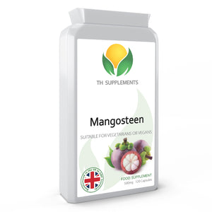 Mangosteen 500mg 120 Capsules food supplement