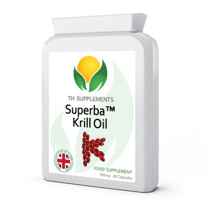 Superba Krill Oil Extract 500mg 60 Capsules food supplement