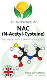 NAC N-Acetyl-Cysteine 600mg 120 Capsules food supplements  a high bioavailability front label.