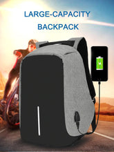 Load image into Gallery viewer, Large Anti-theft Backpack