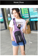 Load image into Gallery viewer, Crossbody Anti-theft Bag