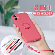 Load image into Gallery viewer, I phone Ring Holder Case