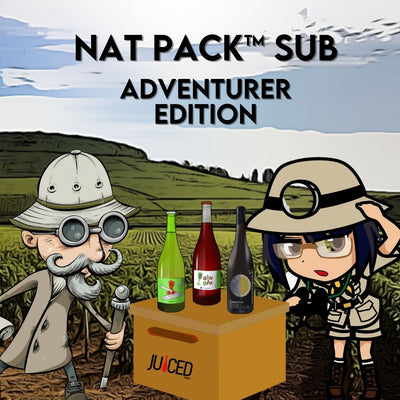 Juiced Wines Nat Pack™ Sub - Adventurer Edition