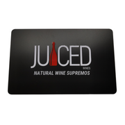 Juiced Wines Gift Card (Front)