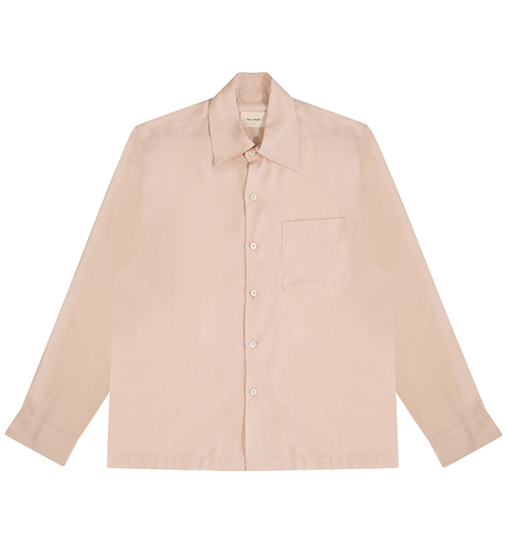 BASIC RIGHTS Pink Long Sleeve Shirt