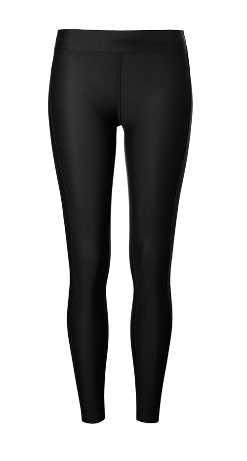AEANCE Recycled Black Long Tights