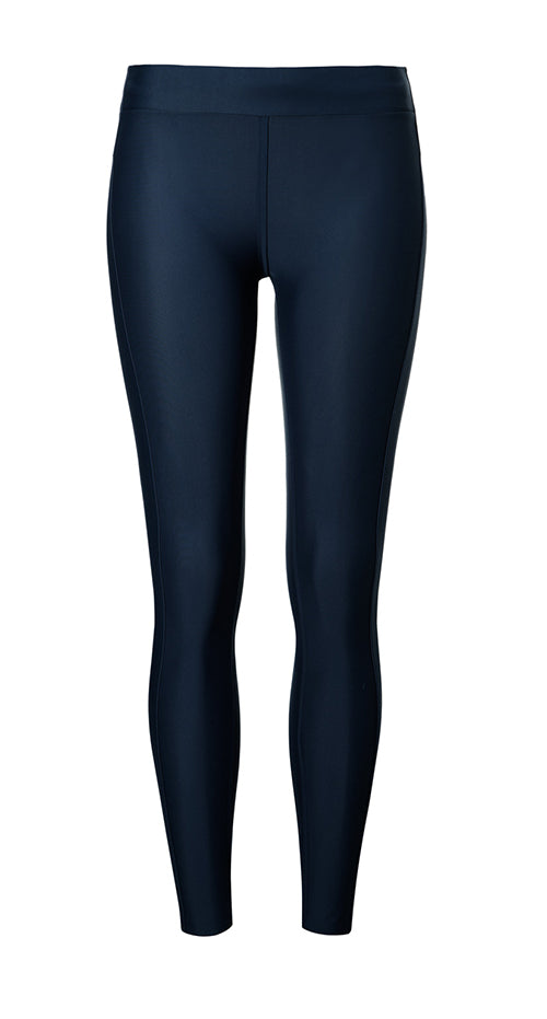 AEANCE Recycled Navy Long Tights