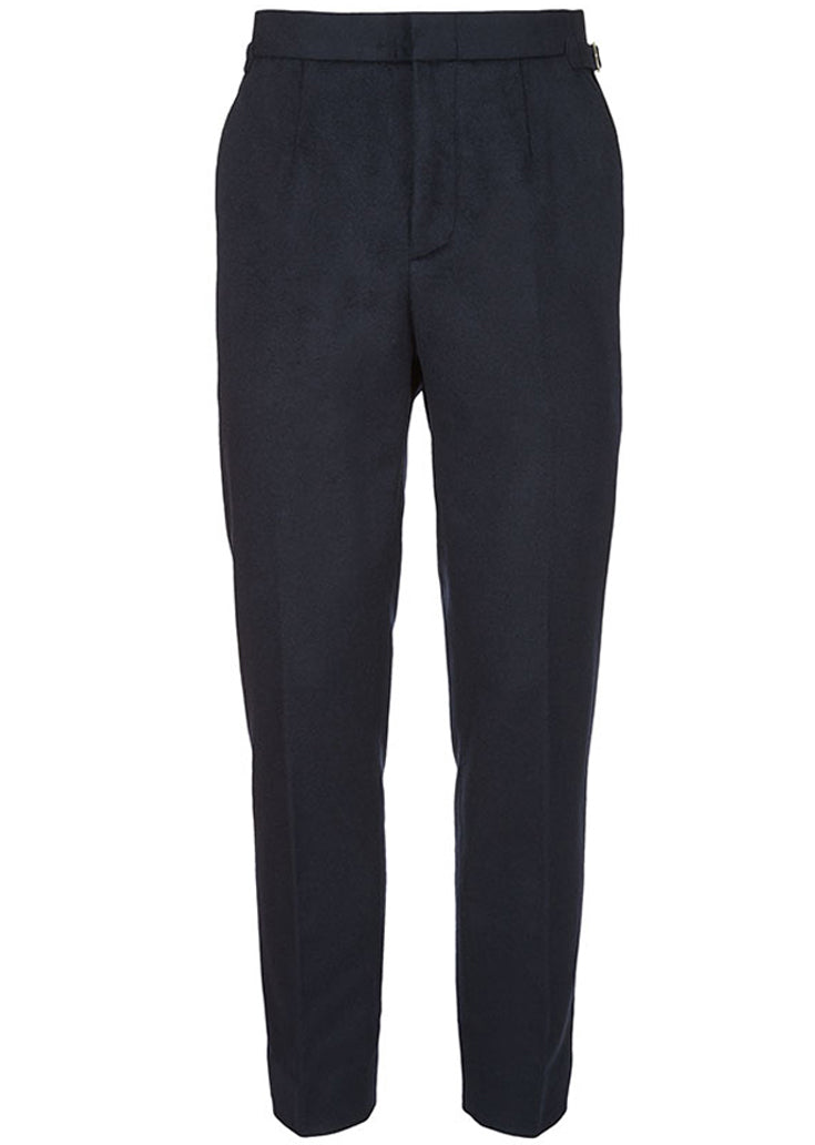 BASIC RIGHTS Navy Wool Trousers
