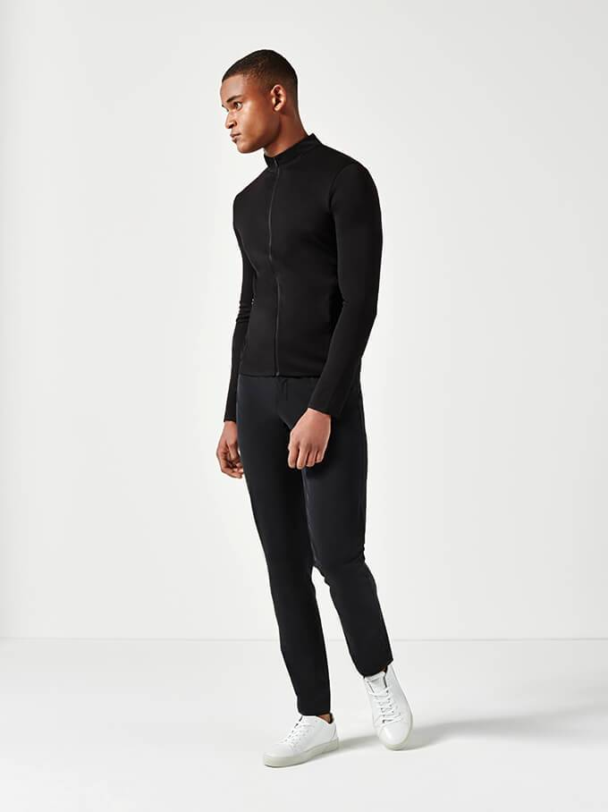 Black Lightweight Trousers