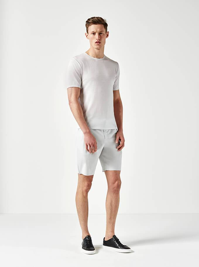 Light Grey Short Sleeve Jersey