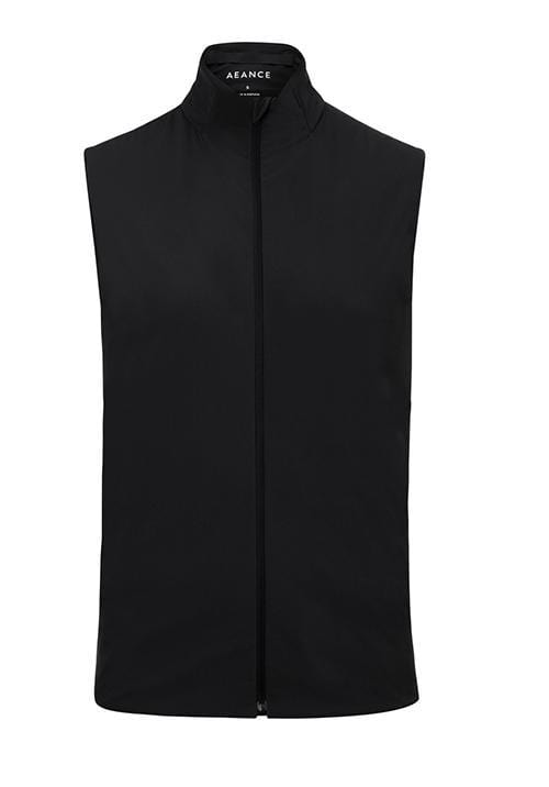 Recycled Black Padded Vest