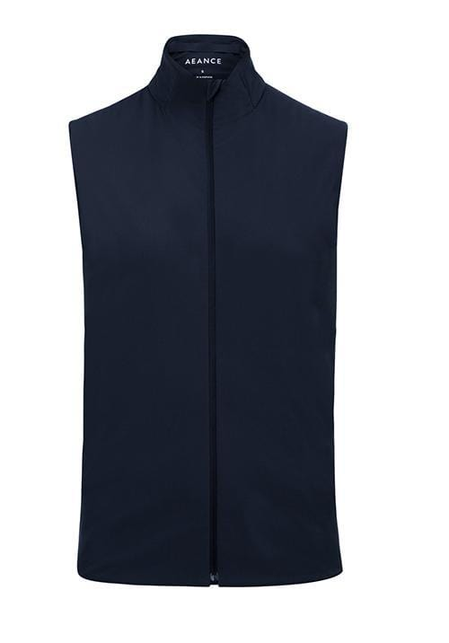 Recycled Navy Padded Vest