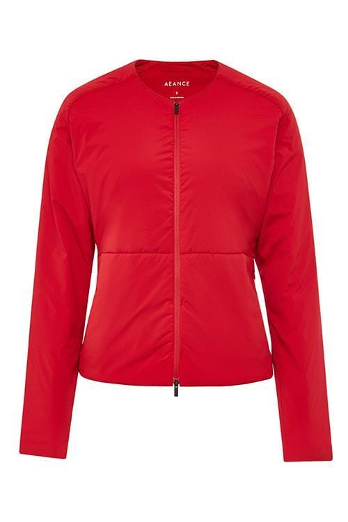 Recycled Red Light Padded Jacket