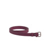 Caoticx Burgundy Reclaimed Leather Bag Belt SlowCo
