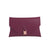 Burgundy Reclaimed Leather Clutch