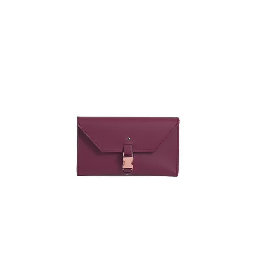 Burgundy Reclaimed Leather Wallet